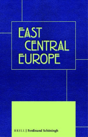 Cover East Central Europe