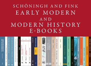 Cover Schöningh and Fink Early Modern and Modern History E-Books Online