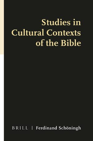 Cover Studies in Cultural Contexts of the Bible