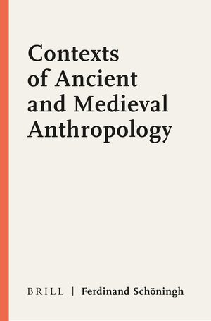 Cover Contexts of Ancient and Medieval Anthropology