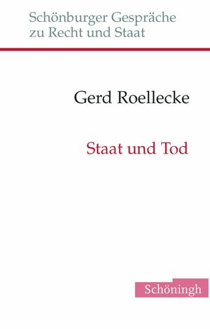 Cover Staat und Tod