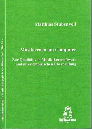 Cover Musiklernen am Computer