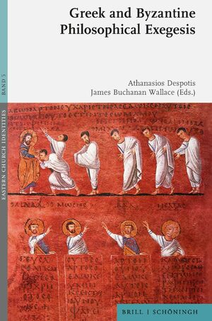 Cover Greek and Byzantine Philosophical Exegesis
