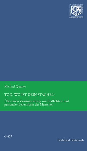 Cover Tod, wo ist Dein Stachel?