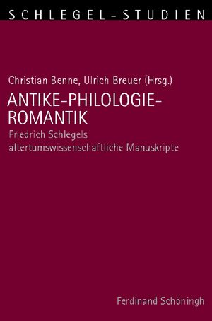 Cover Antike-Philologie-Romantik