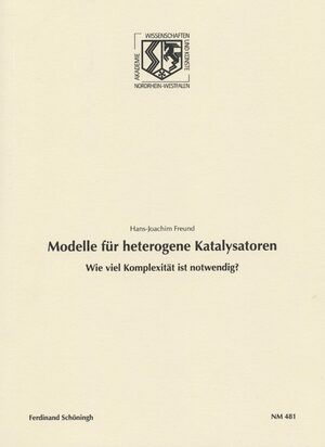 Cover Modelle für heterogene Katalysatoren