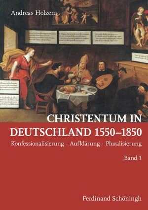 Cover Christentum in Deutschland 1550–1850