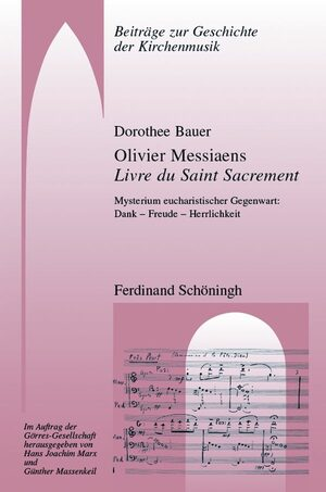 Cover Olivier Messiaens Livre du Saint Sacrement