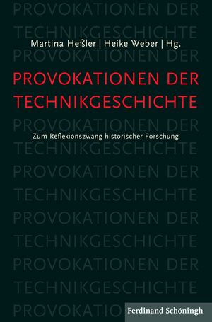 Cover Provokationen der Technikgeschichte