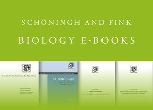 Cover Schöningh and Fink Biology E-Books Online, Collection 2007-2017