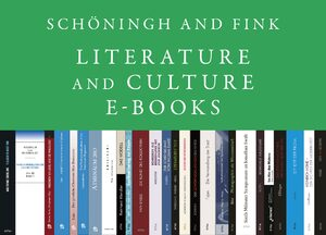 Cover Schöningh and Fink Literature and Culture Studies E-Books, Collection 2013-2017