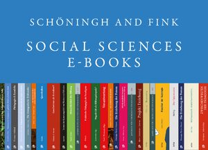 Cover Schöningh and Fink Social Sciences E-Books Online, Collection 2007-2017