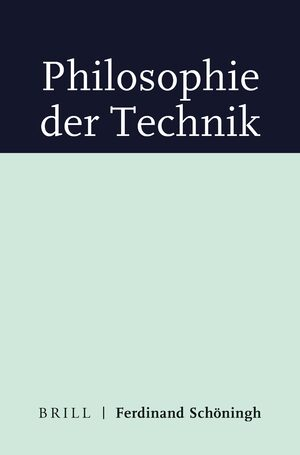 Cover Philosophie der Technik