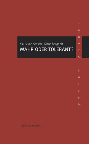 Cover Wahr oder Tolerant?