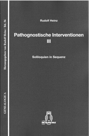 Cover Pathognostische Interventionen III